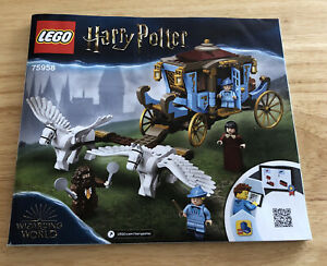 75958 LEGO Harry Potter Beauxbatons' Carriage  INSTRUCTIONS ONLY!