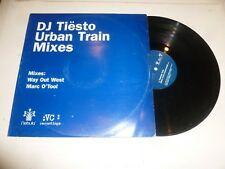 "DJ TIESTO - Urban Train Mixes - Deleted 2001 UK 2-track 12"" Vinyl Single"