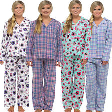 Check Button Front Pyjama Sets for Women