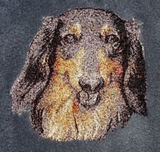Embroidered Sweatshirt - Dachshund AED14819 Sizes S - XXL
