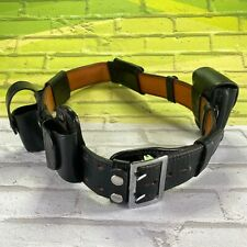 Plain 2 14 Leather Dutyman Belt 1011u Size 44 Police Security Set Equipment