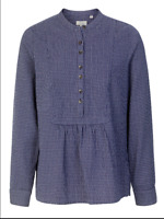 NEW RRP £29.99 Ex  Fat Face Frankie Check Popover Shirt,navy              (B169)