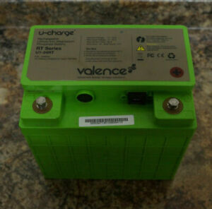 Valence U-Charge RT Series U1-24RT Rechargeable Battery
