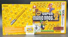"""NINTENDO 3DS SPIEL """" NEW SUPER MARIO BROS. 2 """" Deutsche Verkaufsversion KOMPLETT"""