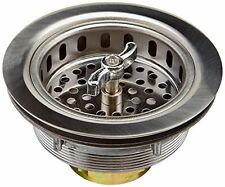 Keeney 1433SS Sink Strainer with Turn 2 Seal Basket, Stainless Steel