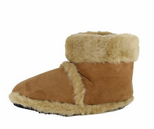 Coolers Men's Faux Suede Boots Slippers