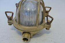 Nordlux Bulkhead Outdoor Wall Light Brass