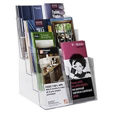 Acrylic Clear Ad Plastic Rack Card Literature Display Holder Brochure Organizer