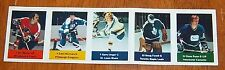 Loblaws / Save Easy NHL action players 1974-75 5 unused stamps Bill Barbour +