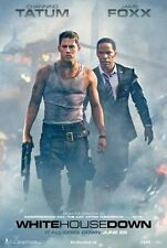 WHITE HOUSE DOWN- 2013- orig D/S ADV movie poster - CHANNING TATUM, JAMIE FOXX
