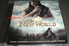 THE NEW WORLD James Horner SCORE cd SOUNDTRACK terrence malick OST rare