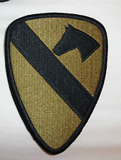 ARMY PATCH,SSI, 1ST CAVALRY DIVISION, MULTI-CAM, WITH HOOK LOOP FASTENER
