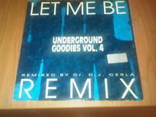 "12"" MIX CAJMERE UNDERGROUND GOODIES VOL.4 PP DIG IT 002  EX-/ VG+ ITALY PS 1993"