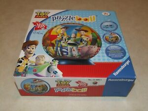 Ravensburger Puzzle Ball  Puzzleball - 108 Pieces - Toy Story - Complete