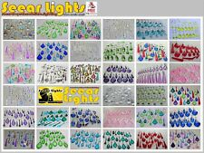 CHANDELIER DROPLETS BUNDLES CUT GLASS CRYSTALS BEADS DROPS CHOICE OF SETS PRISMS