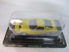LAMBORGHINI MIURA - ESC.-1/43 - DEL PRADO - CARS