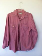 Orvis Pink Button Down Shirt, Large Size