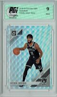 Kyrie Irving 2019 Optic #102 Fanatics Silver Wave SP Card PGI 9