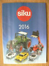 SIKU 2016 Catalogue 55 pages colour mint