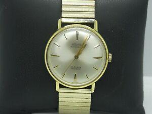 10793/ Vintage Provita Automatic Herrenarmbanduhr vergoldet  -top Zustand-