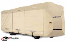 S2 Expedition Premium Class A RV Cover - fits 33' - 34' Length TAN