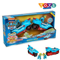 NEW PAW Patrol Mighty Pups Super PAWs, Mighty Twins 2-in-1 Power Split Vehicle