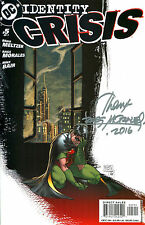 Identity Crisis #5 Robin Signed By Artist Rags Morales