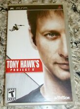 Tony Hawk's Project 8   - PSP - disc, booklet and case