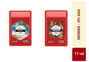 Old Spice NOMAD + LIONPRIDE Deodorant Body Spray - (17ml)   PACK OF 2