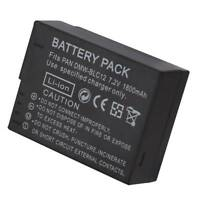 1800mAh DMW-BLC12 Ersatz Akku Battery For Panasonic Lumix G5 G6 G7 FZ1000 Kamera