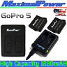 For GoPro Hero 5 Hero 6 AHDBT-501 Camera Battery or USB Dual Charger USA Seller