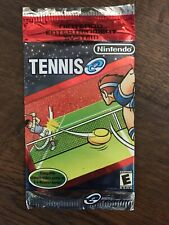 E Reader TENNIS Card Pack of 5 Scan Cards for Nintendo Game Boy Advance