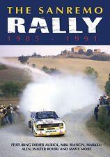 The San Remo Rally 1985 - 1991 (New DVD) Rallying Auriol Sainz Kankkunen Wilson