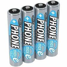 ANSMANN 4 piles rechargeables pour téléphone sans fil AAA, 1,2V / 800mAh / Accum