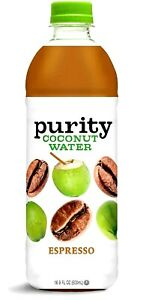 Purity Organic Espresso Coconut Water 16.9 oz ( Pack of 12 )