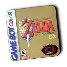 Zelda Links Awakening Gameboy Box Art Wood Coaster For Mugs/Cups Cosplay Game