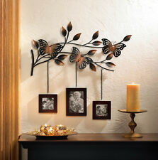 BUTTERFLY WALL DECOR WITH HANGING PICTURE PHOTO FRAME-10015473
