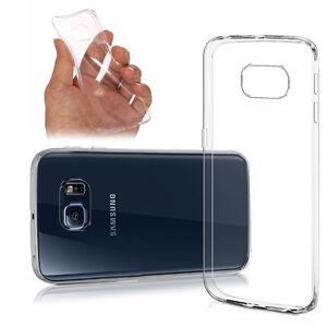 Housse Custodia Coque Gel Ultraslim Silicone Per Samsung Galaxy S6 Edge SM-G925F