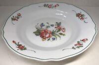 Lot 8 De 6 Assiettes Creuses Vintage Arcopal France D 22,5 Cm Décor Floral