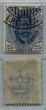 ERITREA - 1895/1899 - 25 cent (17) Umberto I - U