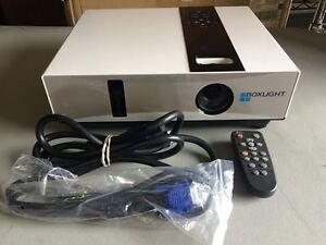 BOXLIGHT X30N XGA LCD PROJECTOR, 3000 LUMENS, NEW FACTORY LAMP!! WORKS GREAT!!