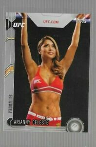 2015 Topps UFC Chronicles Arianny Celeste Silver Parallel