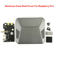 Removable Multifunction Shell Cover Box For Raspberry Pi 4 Model B Cooling Fan