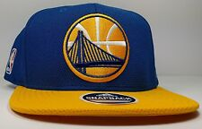 Golden State Warriors Adidas XL Logo 2 Tone Draft Current Snapback Hat NBA