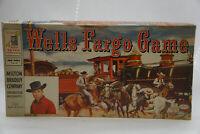 VINTAGE BOARD GAME 1959 TALES OF WELLS FARGO COMPLETE