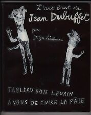 Georges Limbour / Jean Dubuffet TABLEAU BON LEVAIN... couv. litho imp. Draeger