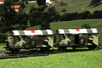 Exact-Train EX20262 H0 DRG Opole Grs Freight Car Camouflage Red Cross