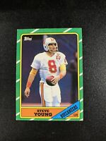 1986 Topps Steve Young - ROOKIE - Tampa Bay Buccaneers #374 Football Card