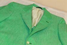 BESPOKE CUSTOM DEANSGATE Lime Green Blazer Jacket Sports Coat 40 R