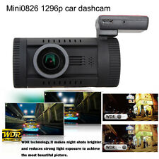 """Mini 0826 1.5"""" LCD Ambarella A7 HD 1296P Car GPS Dash Camera Vedio DVR WDR LDWS"""